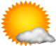 Partly Cloudy / 46°F (8°C) / Winds W at 16