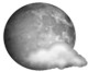 Partly Cloudy / 52°F (11°C) / Winds SSW at 5